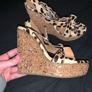 Cheetah Wedges